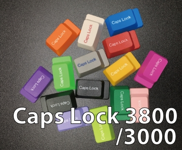 Step Caps Lock for type 3000 /3800