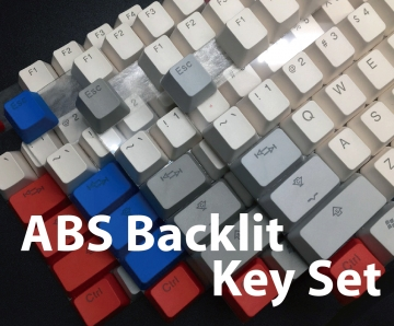 ABS Backlit Keycaps