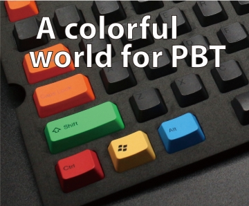 A colorful world for PBT