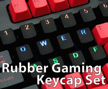 Rubber Gaming Keycap Set